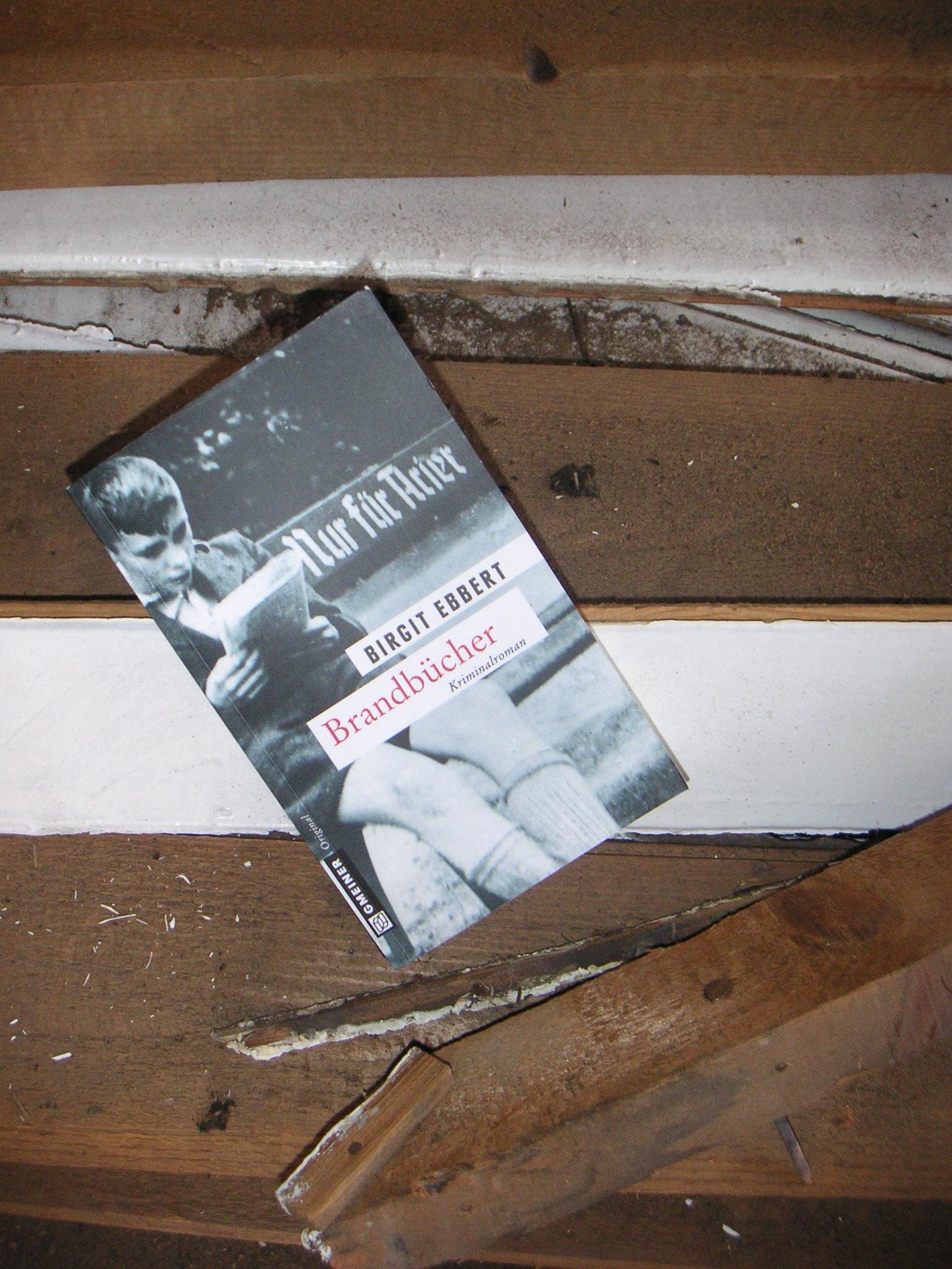 """""""Brandbücher"""" von Birgit Ebbert"""