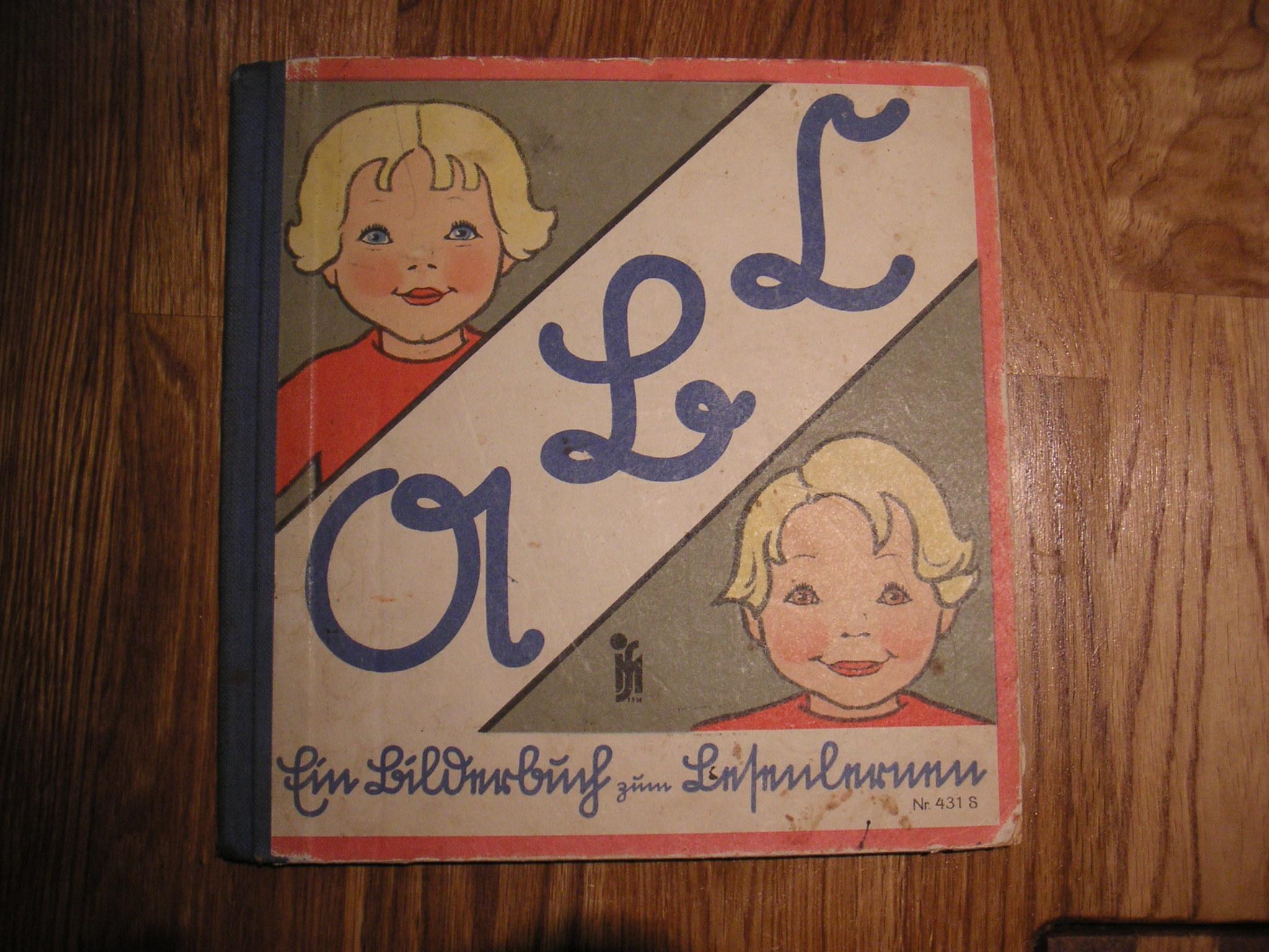 Lesenlernen für blau- und braunäugige Kinder