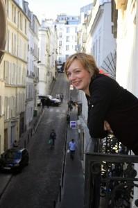 Ich hatte mich in Paris auch schnell wieder eingelebt