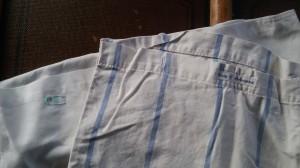Noch immer in Benutzung: Bettwäsche mit Kirk-Waschmarke und eingenähtem Namen