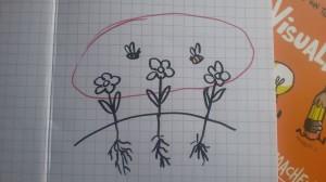 Experten (das sind die Blumen) sind in ihren Themen verwurzelt, brauchen aber Hilfe, um sich gegenseitig zu befruchten.