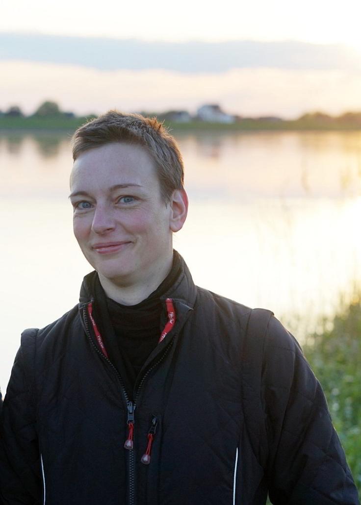 Gesa Füßle lächelt - Fotograf Gerrit de Lange